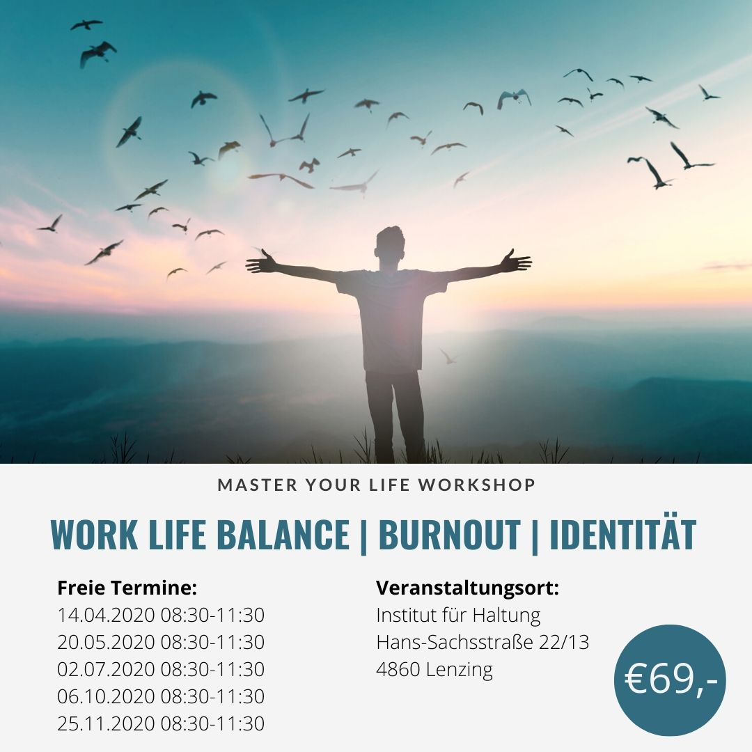 Work Life Balance, Burnout, Identität